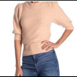 Free people sugar pie elbow sleeve sweater